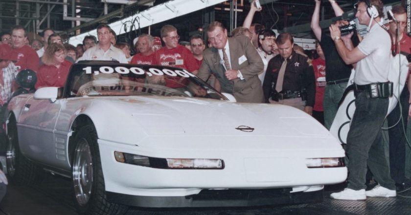 July 2, 1992 – The one millionth Corvette
