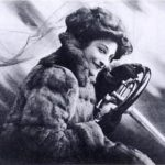 July 4, 1903 – The first female racer