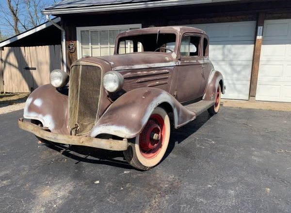 Dusty & Rusty – 1934 Chevrolet Six coupe for Sale – $12K