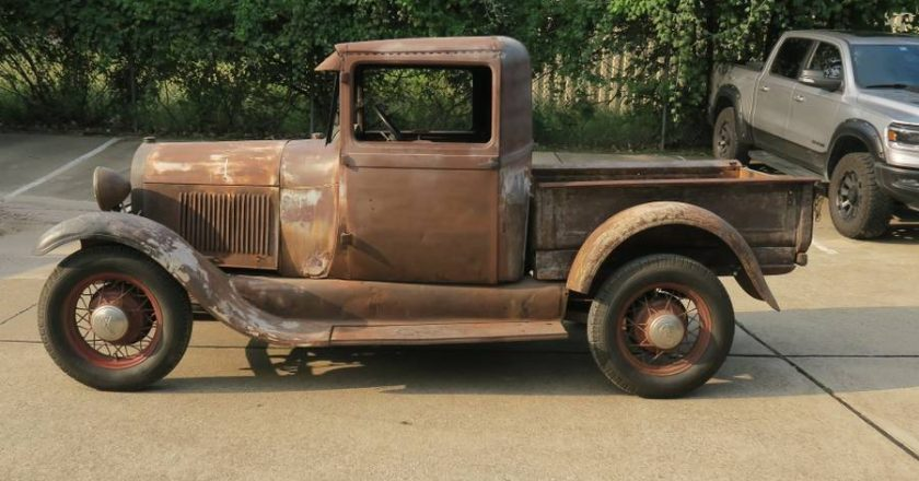 Cheap Classic – Driving 1931 Ford Model A Truck – $6,500
