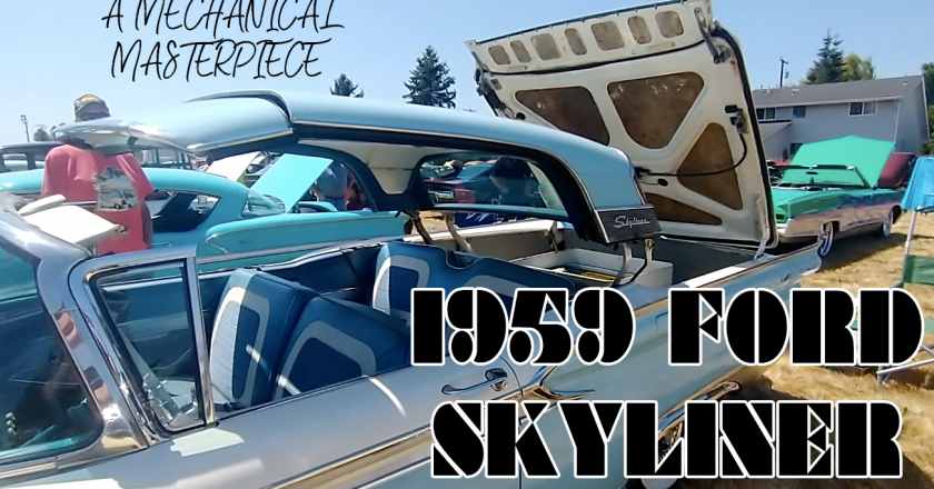 Mechanical Masterpiece – Opening the Top on a 1959 Ford Skyliner