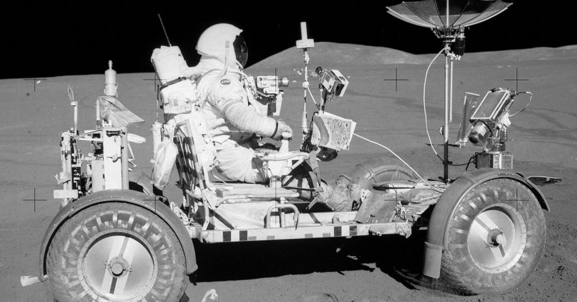 July 31, 1971 – The first drive on the moon