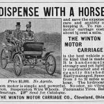 July 30, 1898 – The first printed automobile advertisement