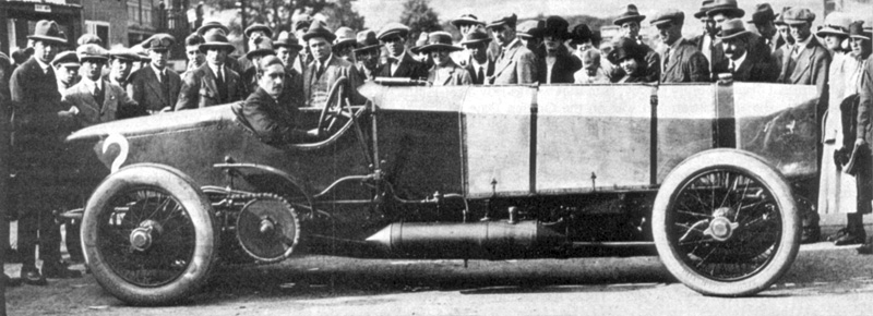 August 23, 1922 – Chitty Bang Bang takes first place