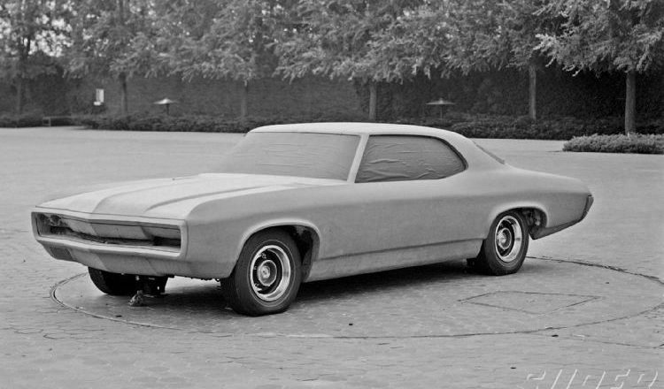 August 2, 1967 – 1970 Chevelle Clay Model documented