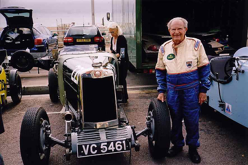 August 31, 2006 – The oldest licensed race car driver dies at 94