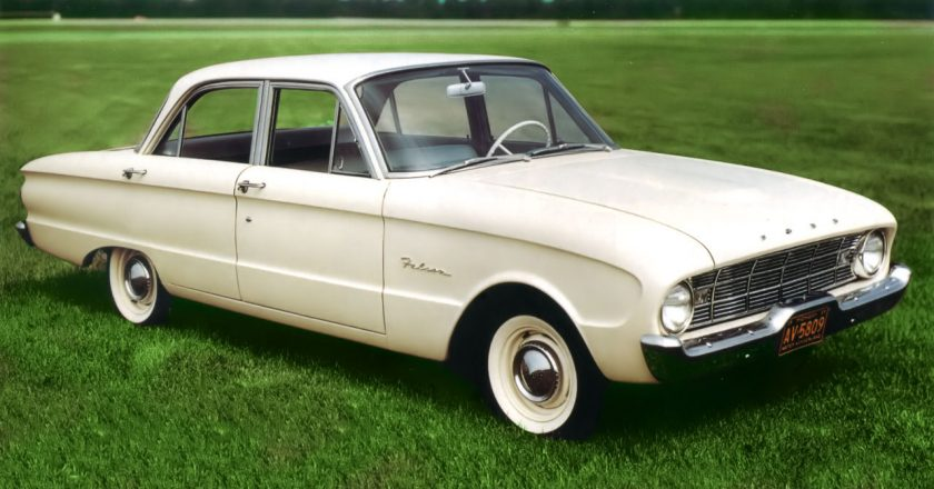 September 2, 1959 – The Ford Falcon is introduced