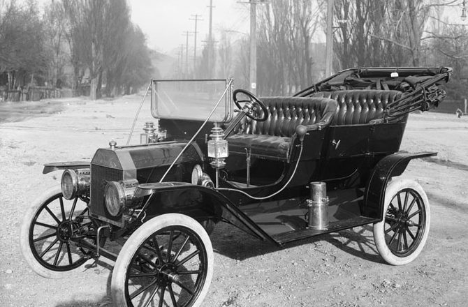 October 1, 1908 – GM buys Buick, Ford builds first production Model T