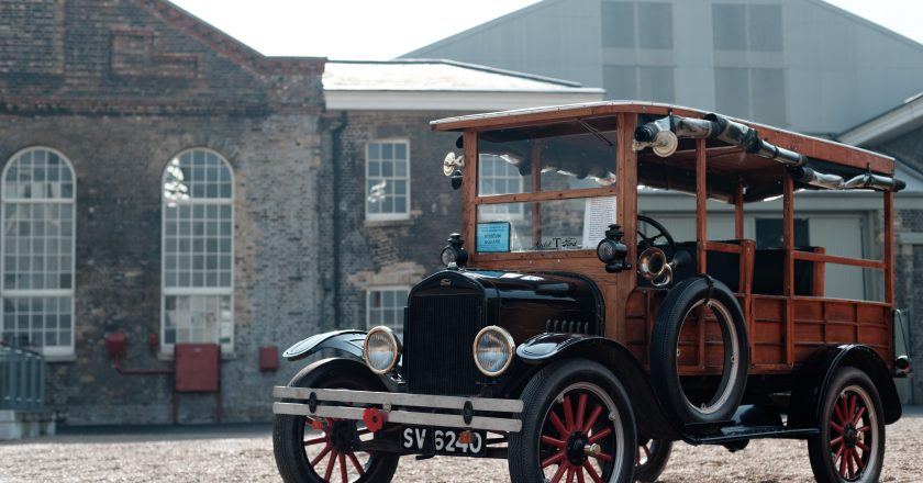 October 23, 1911 – A spot of English T, English Model T that is